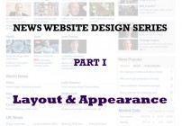 News Website Design Series – Part 1
