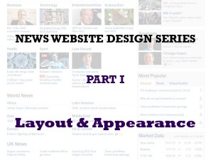 News design image - website appearance