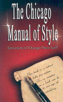 Chicago Manual of Style image